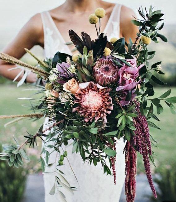 Bouquet matrimonio fashion