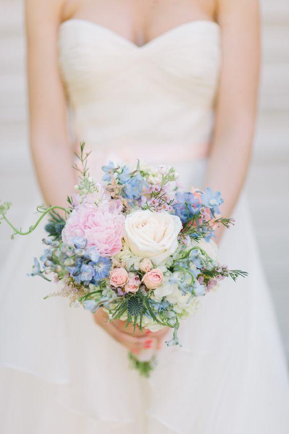 Bouquet matrimonio primavera
