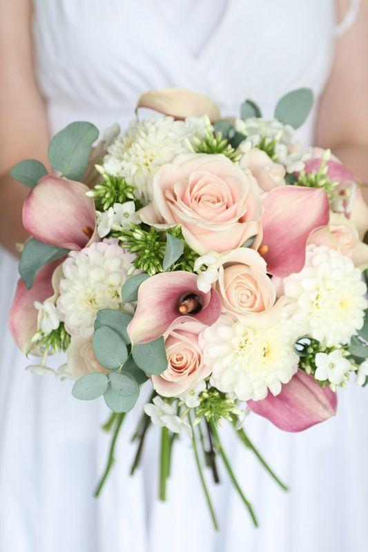Bouquet matrimonio rosa